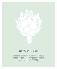 The 2010 Guiliano label