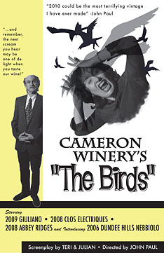 Cameron 2010 Newsletter: The Birds!