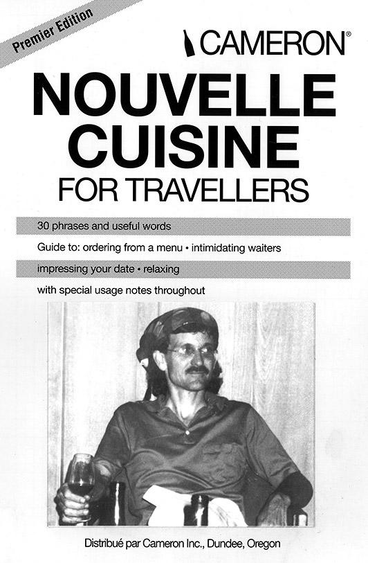 Nouvelle Cuisine (Cover)