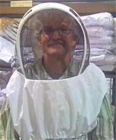 John Paul in a bee suit