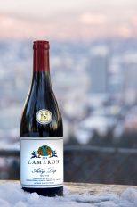 2014 Arley's Leap Pinot noir label