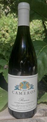 2019 Reserve Dundee Hills Chardonnay label